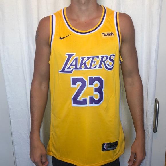 lebron james yellow jersey
